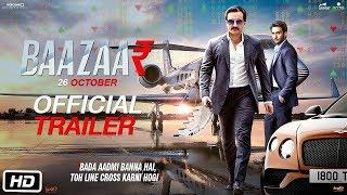 Baazaar - Official Trailer   Saif Ali Khan, Radhika Apte, Rohan Mehra, Chitrangda Singh   B4U
