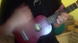 Fucked Reality - Choking Victim (ukulele cover by EBA) CHORDS ON DESCRIPTION