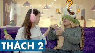 THÁCH 2 | DÙNG LƯỠI ĐOÁN VẬT (Phở Đặc Biệt & Ngọc Thảo) | GameShow Hài Hước Việt Nam