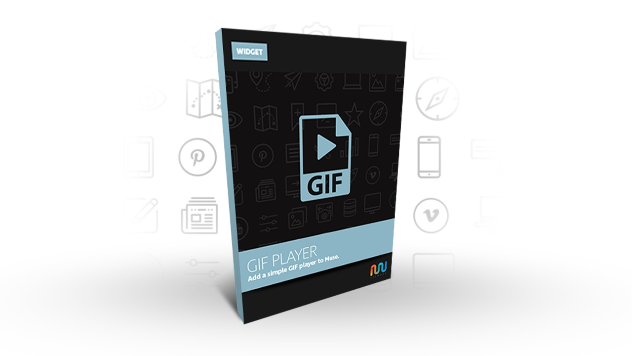 Adobe Muse Widget or Adobe Muse Template | GIF Player 2.0
