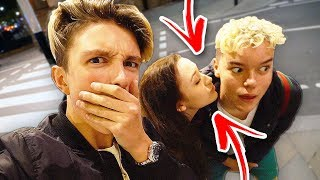 my GIRLFRIEND CHEATED on ME with a FAN!!! (They Kissed)