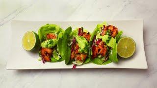 Spicy Shrimp Lettuce Wraps // Presented by BuzzFeed & GEICO