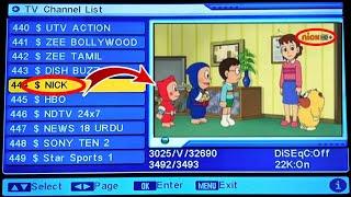 New Cartoon channel DD free dish new channel frequency 2019, paid cartoon channel DD free dish