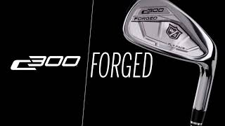 Wilson Staff C300 4-PW, GW Forged Iron Set w/ Fuji Pro 85 Graphite Shafts-video