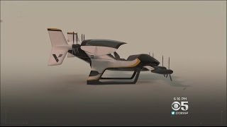 Company Releases Animation Of New Air Taxi Design