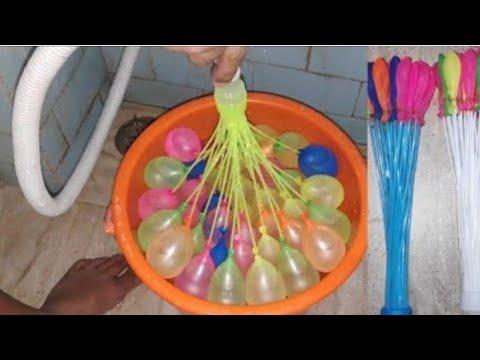 magic balloons test holi special video, Holi stash testing video