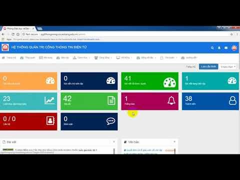 Portal Education #1. Hướng dẫn đăng nhập và đổi mật khẩu cổng thông tin điện tử