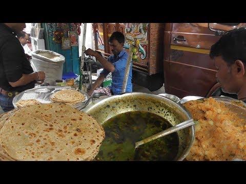 Aloo Paratha 2 Piece Only 12 Rs   Kolkata Street Food Near Tea Board   Street Food Loves You