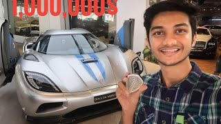 SPOTTED BILLION DOLLAR WORTH OF SUPERCARS IN DUBAI (in one day) | FERRARI WORLD