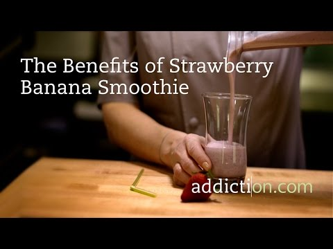 Benefits of Strawberry Banana Smoothie