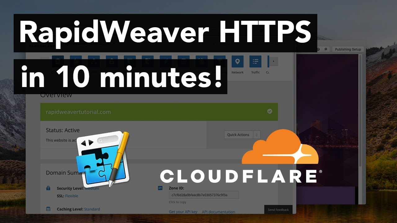 How to add HTTPS to RapidWeaver