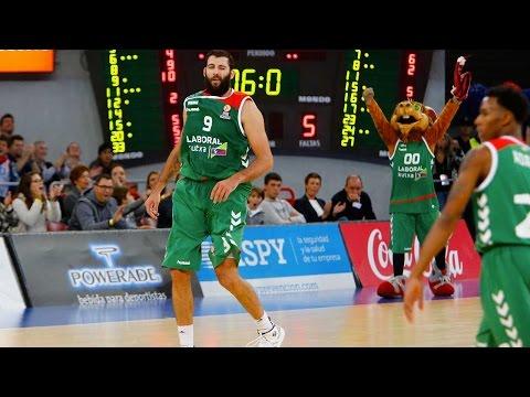 Regular Season, Round 2 MVP: Ioannis Bourousis, Laboral Kutxa Vitoria Gasteiz