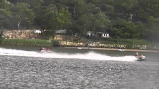 Sea Doo GTR 215 Vs RXT X 260 Drag Race #2