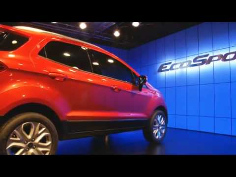 Ford EcoSport, the 'right sized' compact SUV