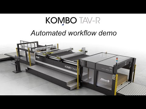 Kombo TAV-R: Loading - Cutting & Creasing - Unloading 24/7