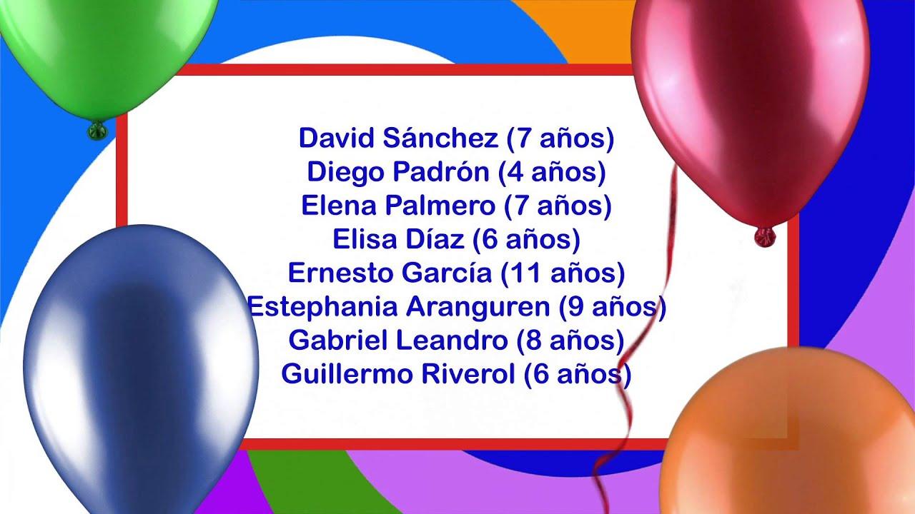 Archicumpleaños 18/11/2012