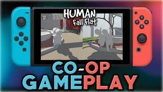 Human Fall Flat | Co-op Gameplay | Nintendo Switch