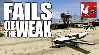 GTA V, Titanfall, Watch Dogs and The Witcher 3 - Fails of the Weak #245
