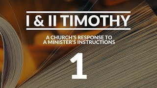 I & II Timothy - #1