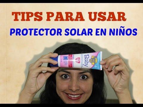 Tips para usar protector solar en niños + SORTEO!
