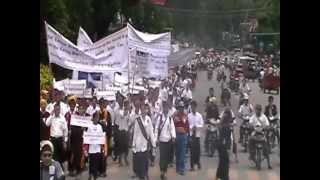 preview picture of video 'Public demonstration in Myitkyina - Kachin State - Myanmar 7'