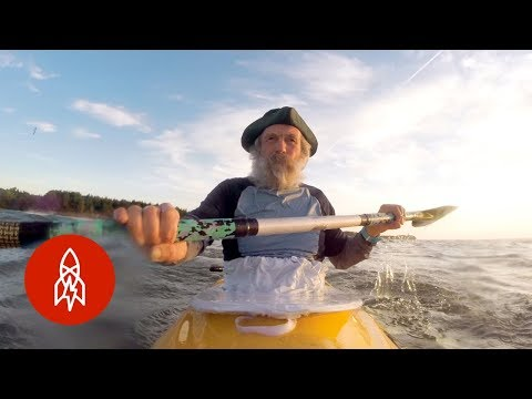 Over 70 and Kayaking Around the World