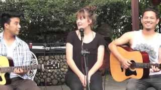 "GERMAN GIRL SINGING NEPALI COVER SONG - ""MERO PRIYATAM"" by Sukmit Gurung, (MUST WATCH VIDEO)"