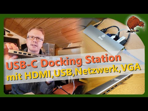 iBesi USB-C Docking Station für Laptops