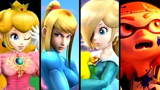 Super Smash Bros Evolution of NEW CHARACTER TRAILERS 2001-2018 (Switch to Melee)