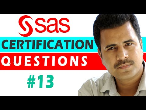 SAS Certified Specialist : QUESTION #13 - Base Programming ...