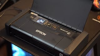 Epson WorkForce WF-100 Review // Smallest Printer In The World