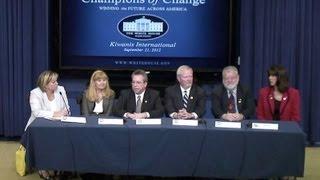 Champions of Change: Kiwanis International