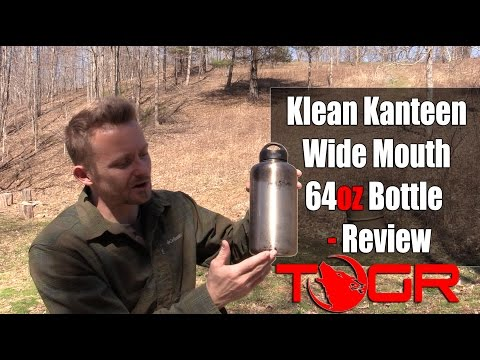 Perfect for Bushcraft - Klean Kanteen Wide Mouth 64oz Bottle - Review