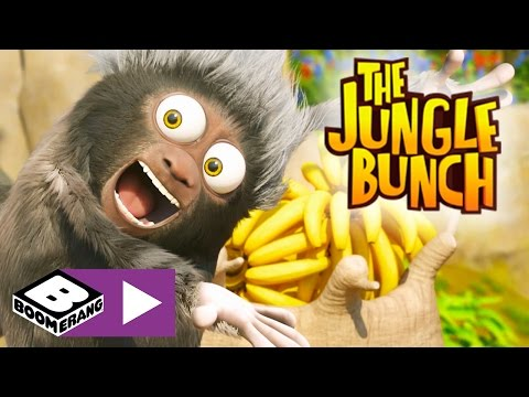 The Jungle Bunch | Strongest Animal Competition | Boomerang UK