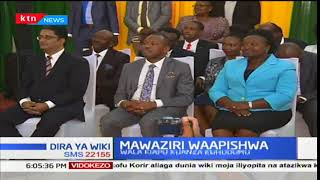 Gavana Mike Sonko aahidi kupambana na ufisadi akiahidi mabadiliko kwenye muhula wake wa uongozi