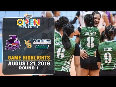 Choco Mucho vs. PacificTown-Army - August 21, 2019 | Game Highlights | #PVL2019