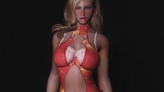 lovehappy.net - star lady armor skyrim mod