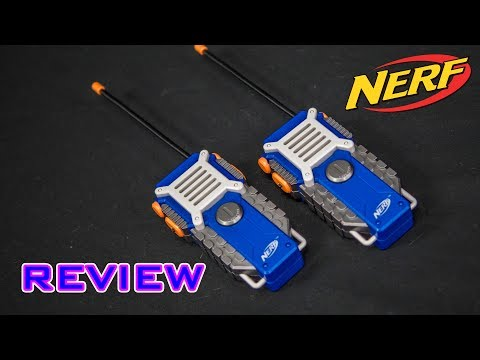 [REVIEW] Nerf N-Strike Walkie Talkies Review!