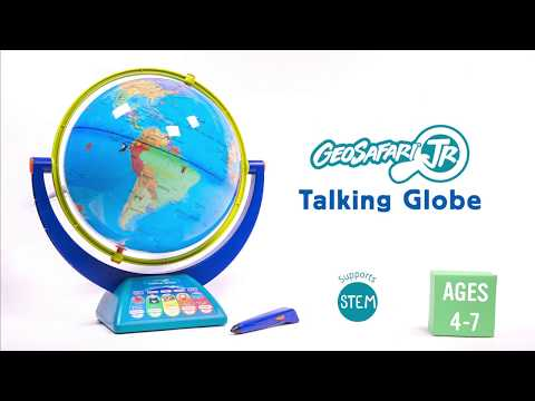 Youtube Video for GeoSafari Talking Globe - Travel the World