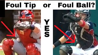 Crazy Baseball Rules - Wait...what? Foul Tip AND Foul Ball?