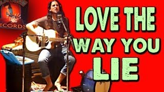 Love The Way You Lie   Walk Off The Earth (Eminem Cover)