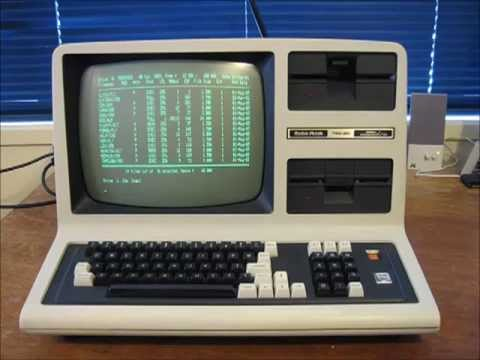 The TRS-80 Model 4: As seen in Tezza's classic computer collection