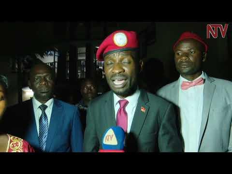 Bobi Wine released after recording statement