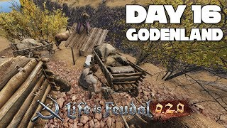 Life is Feudal MMO 0.2.0 | Day 16-17 | 0.2.5 is out and Instanced Battles are broken then Fixed!
