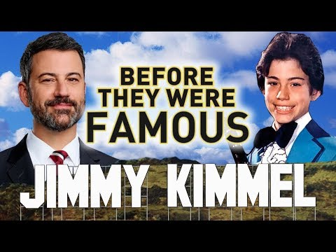 JIMMY KIMMEL - Before They Were Famous - Jimmy Kimmel Live - Biography