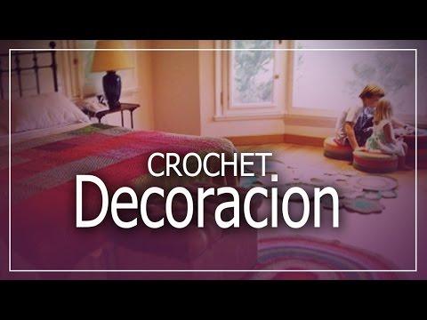 Decoración Para habitación a crochet y dos agujas - Deco Dormitorio