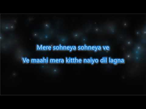 Download Mere Soneya - Kabir Singh - Karaoke with Female Vocals and Chorus Mp4 HD Video and MP3