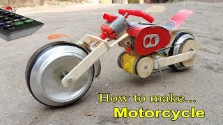 How to make Control Motorcycle at home very easy