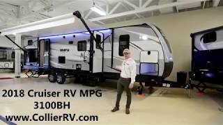 Collierrv com 2018 Cruiser RV MPG 3100BH bunkhouse outside kitchen fiberglass