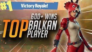 TOP BALKAN PLAYER! FORTNITE 640+ POBEDA SOLO/DUO - Fortnite BALKAN  PC Live